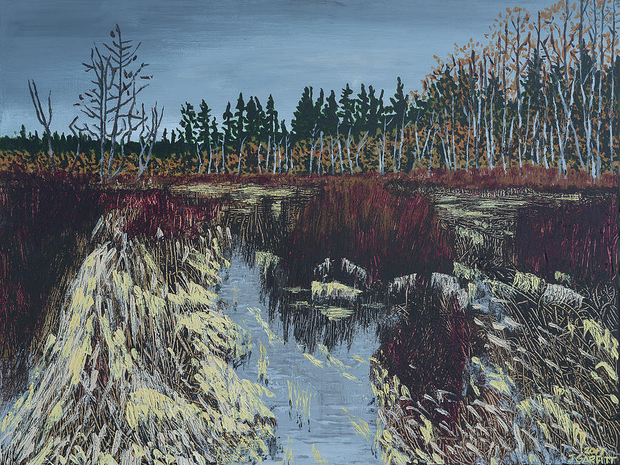 Winter River by John Garfitt