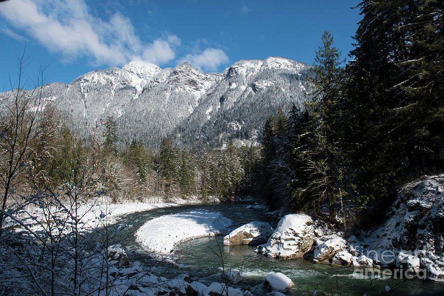 Winter River by Rod Wiens