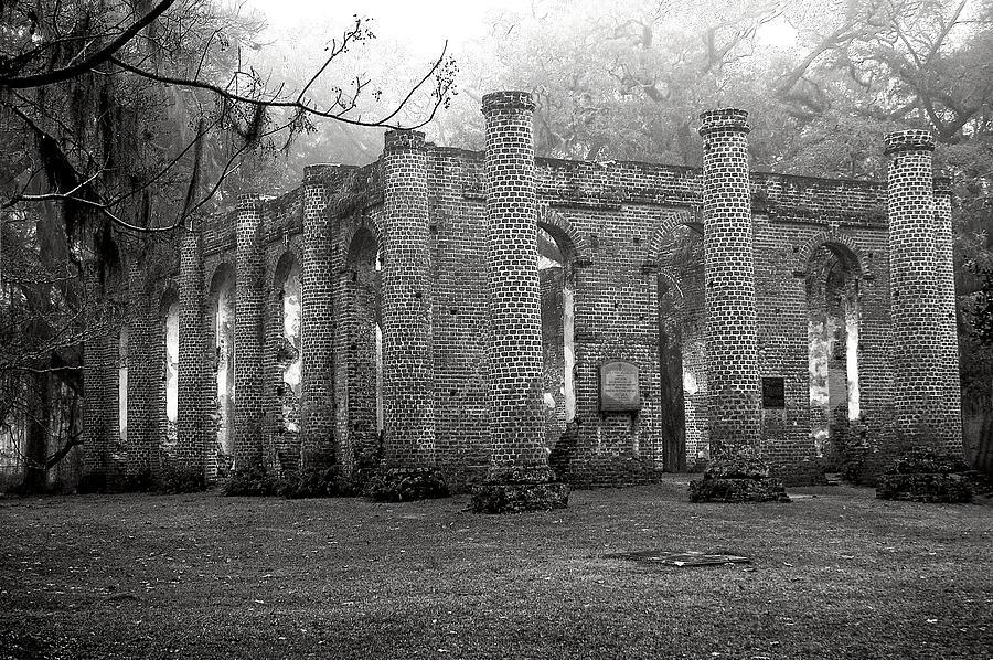 Winter Ruins Photograph