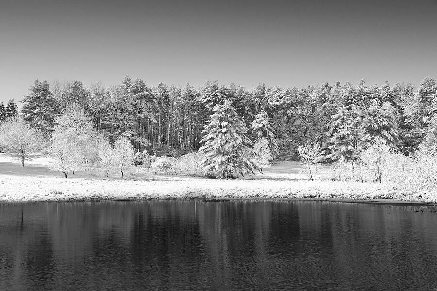 Winter Photograph - Winter Scene 2 by Edward Myers