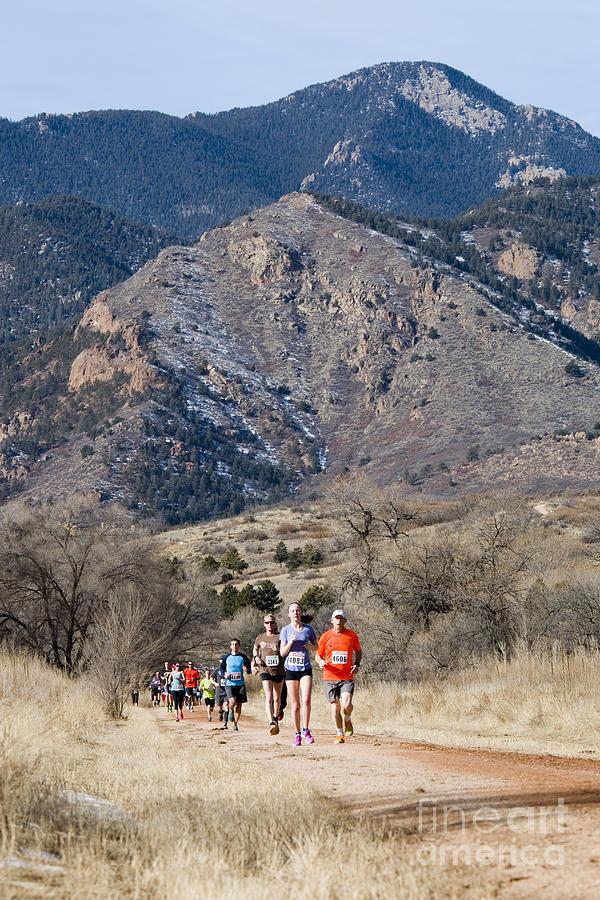 Winter Series II Runners Photograph
