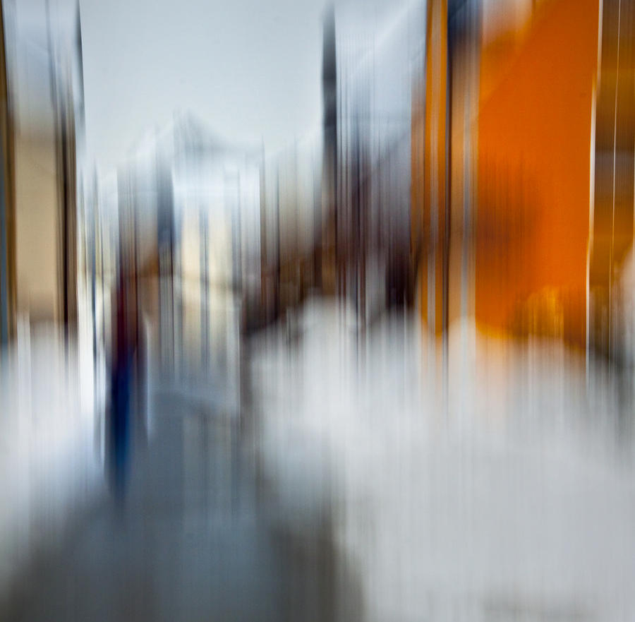Abstract Photograph - Winter Sins by Dorit Fuhg