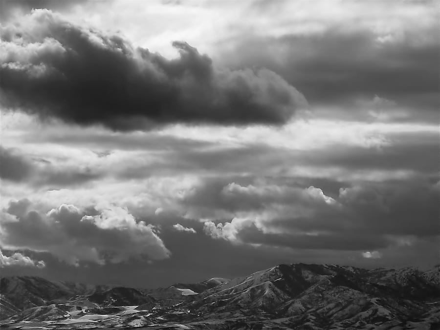 Salt Lake City Photograph - Winter Sky by Rona Black