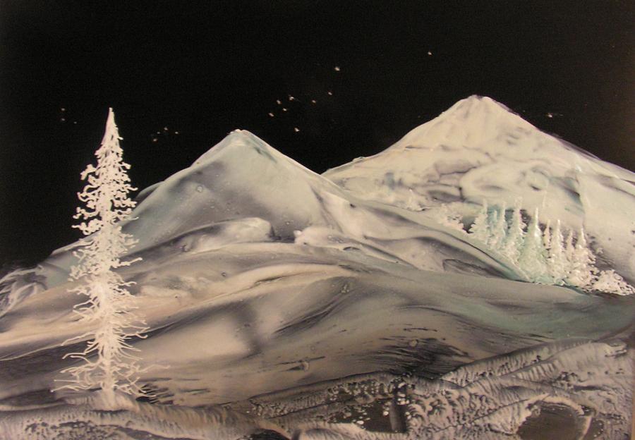 Landscape Painting - Winter Slumber by John Vandebrooke