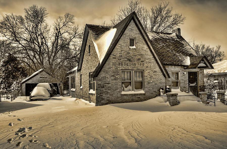 Winter Photograph - Winter Snow II by Ricky Barnard