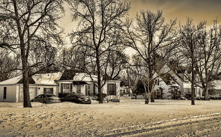 Winter Photograph - Winter Snow by Ricky Barnard