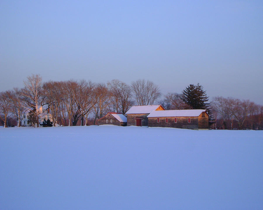 Landscape Photograph - Winter Solace by Leonardo Ruggieri