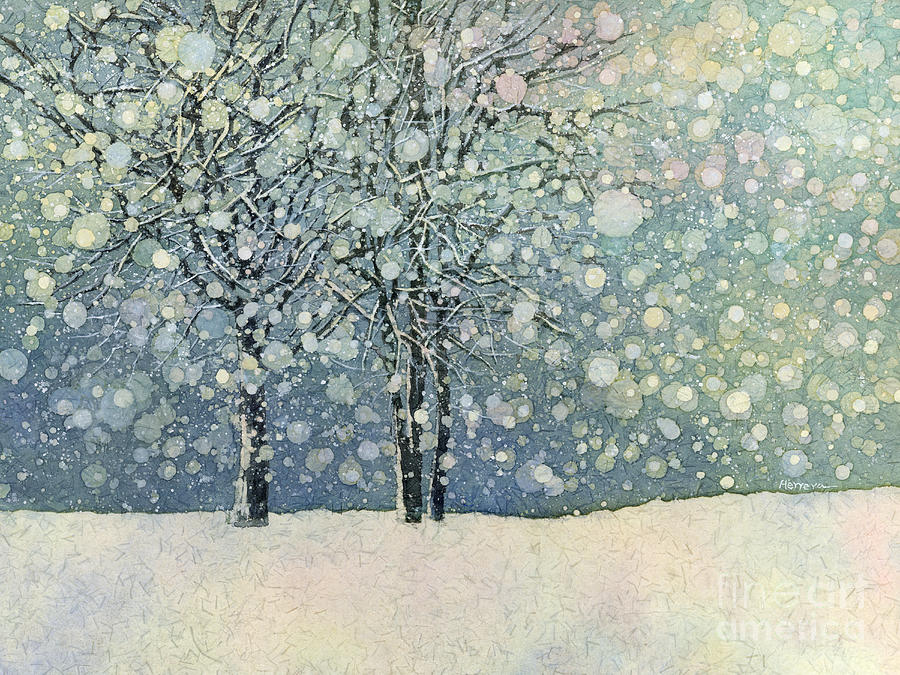 Winter Sonnet Painting