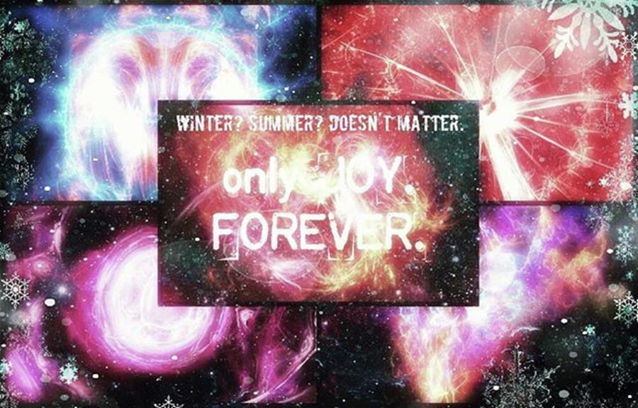 Summer Photograph - #winter #summer #joy #forever by Michal Dunaj