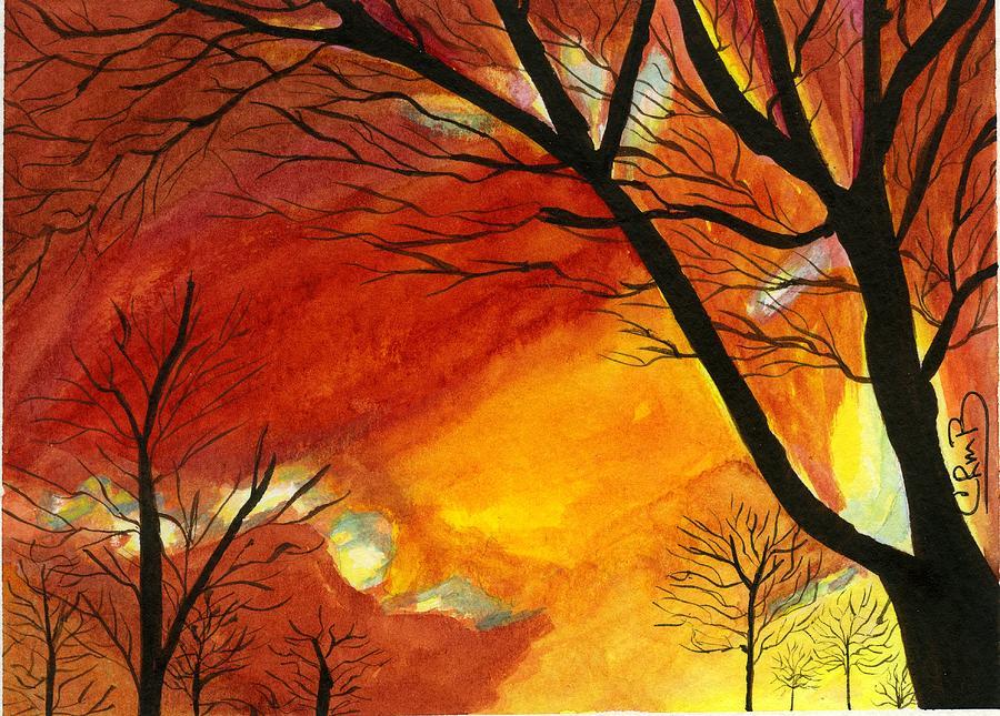 Winter Sunburst by Candace Bailly
