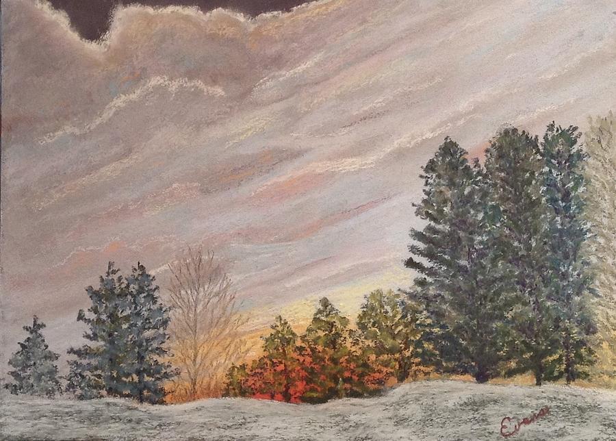 Winter Sunrise by Lynda Evans