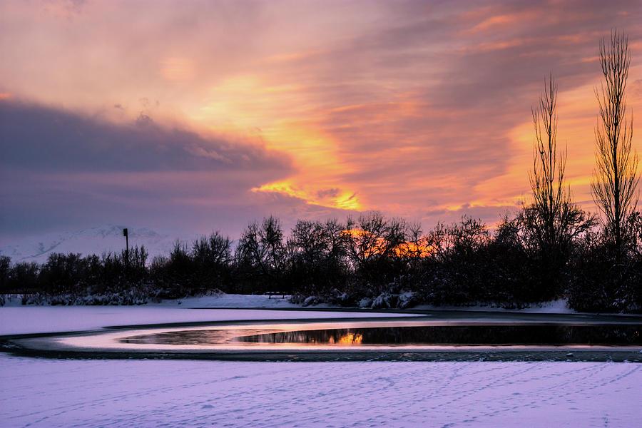 Winter sunset by Bryan Carter