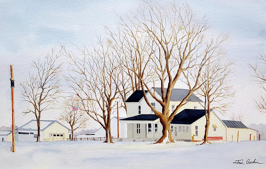 Winter Sunset by Jim Gerkin