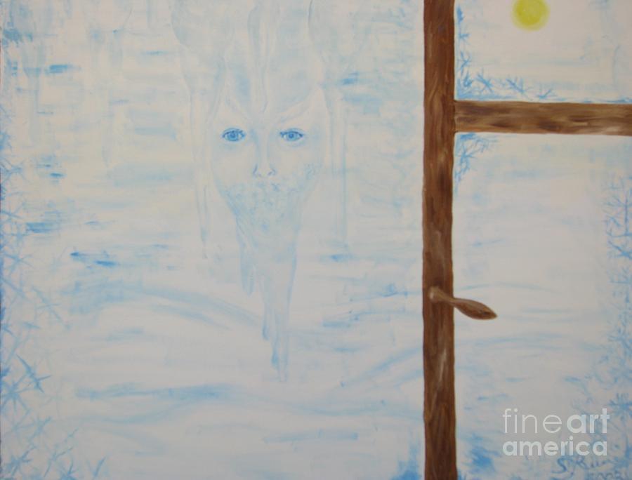 Mixed Media Painting - Winter by Svetlana Vinokurtsev