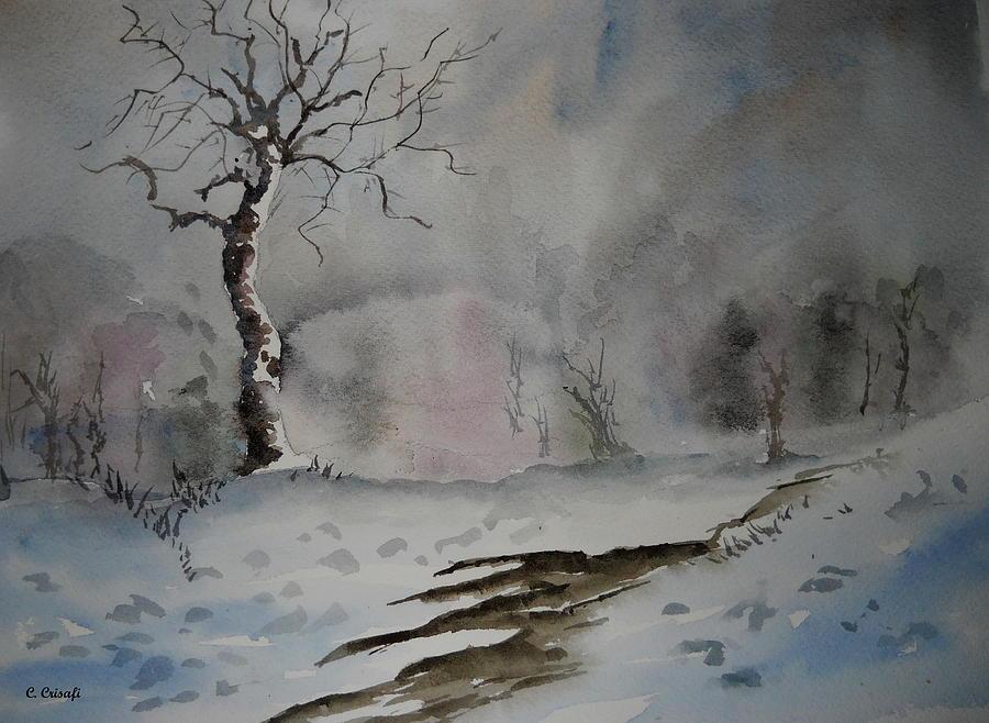 Winter Tree by Carol Crisafi