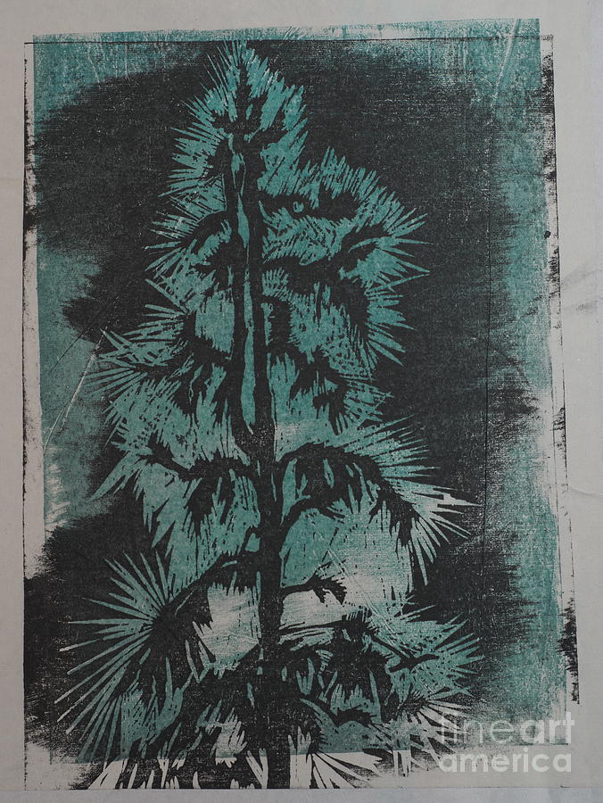 Wood Mixed Media - Winter Tree by Crafty Daniel