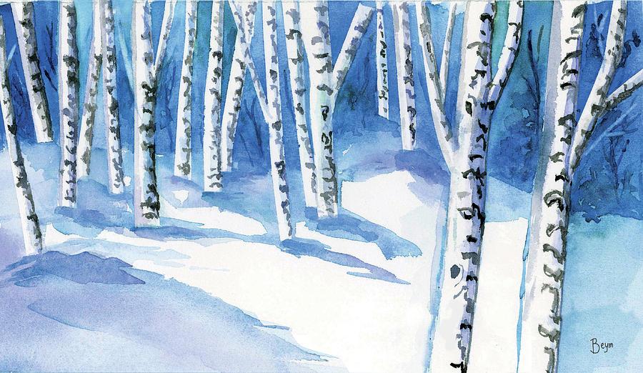 Winter Trees by Clara Sue Beym
