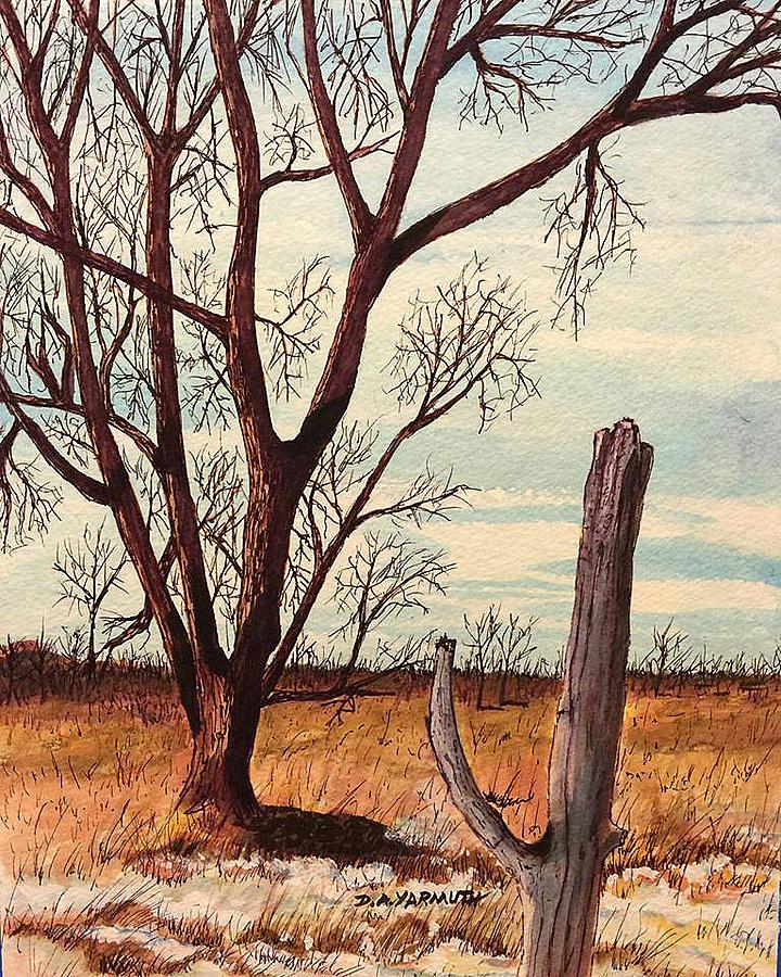 Winter Trees by Dale Yarmuth