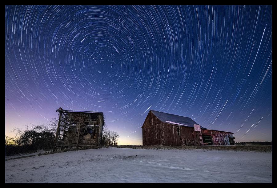 Maryland Photograph - Winter Vortex by Robert Fawcett