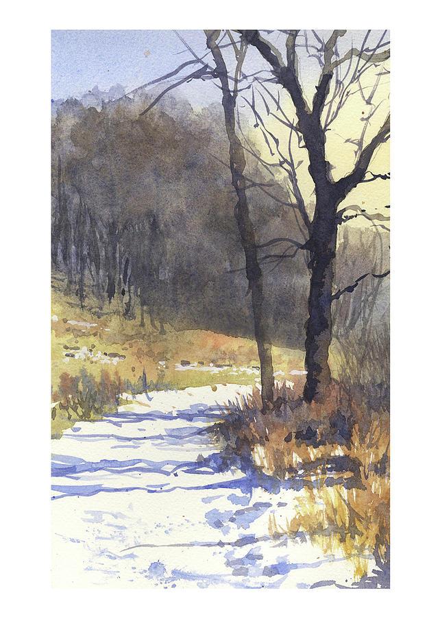 Winter Walk by James Faecke