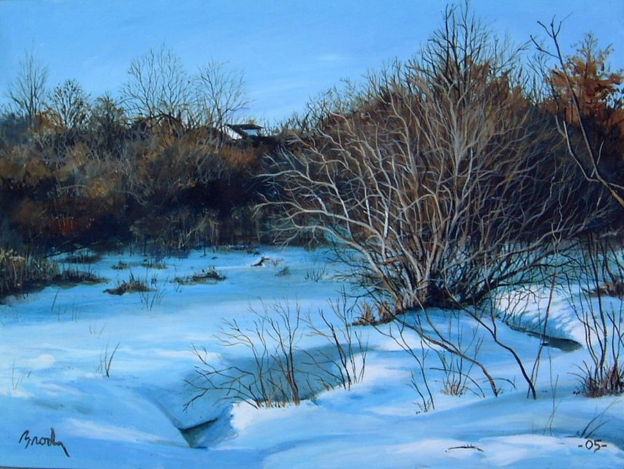 Landscape Painting - Winter by William  Brody