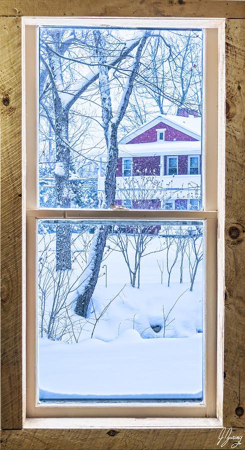 Winter Window Photograph by Joshua Zaring on