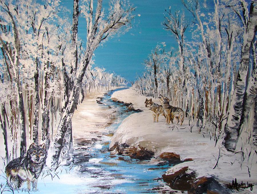 Winter Wolves by Mandy Joy