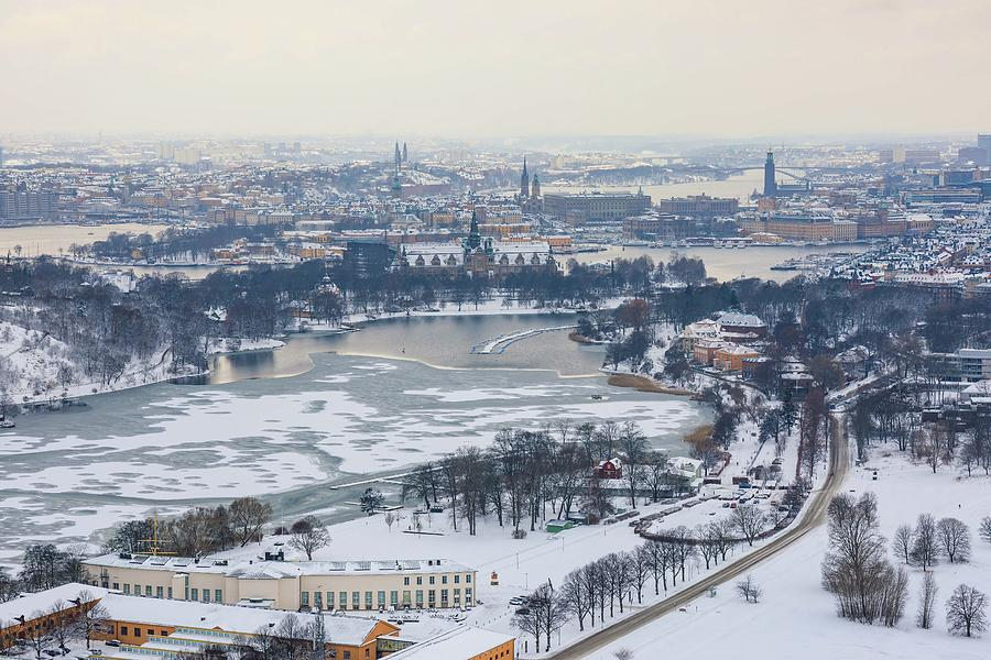 Stockholm Photograph - Winter Wonderland in Stockholm by Dejan Kostic
