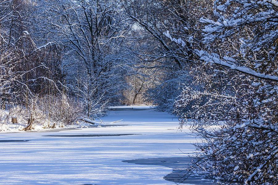Winter Wonderland In The Heart Of Berlin Photograph