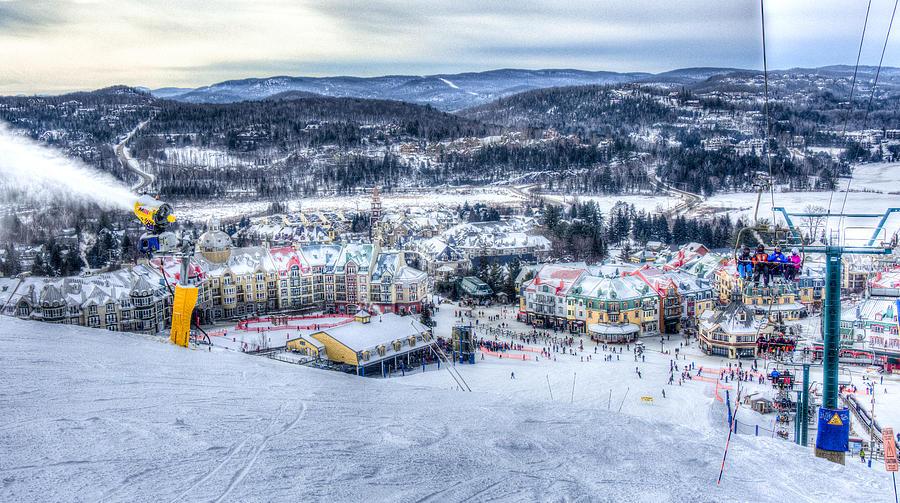 Landscape Photograph - Winter Wonderland by Michael Santos