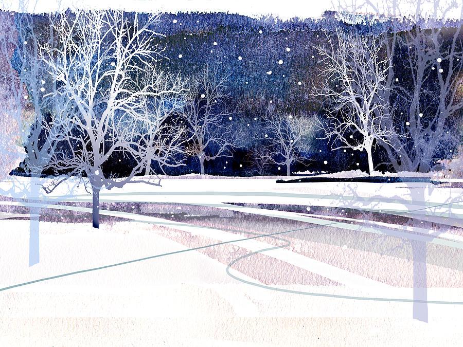 Winter Painting - Winter Wonderland by Paul Sachtleben