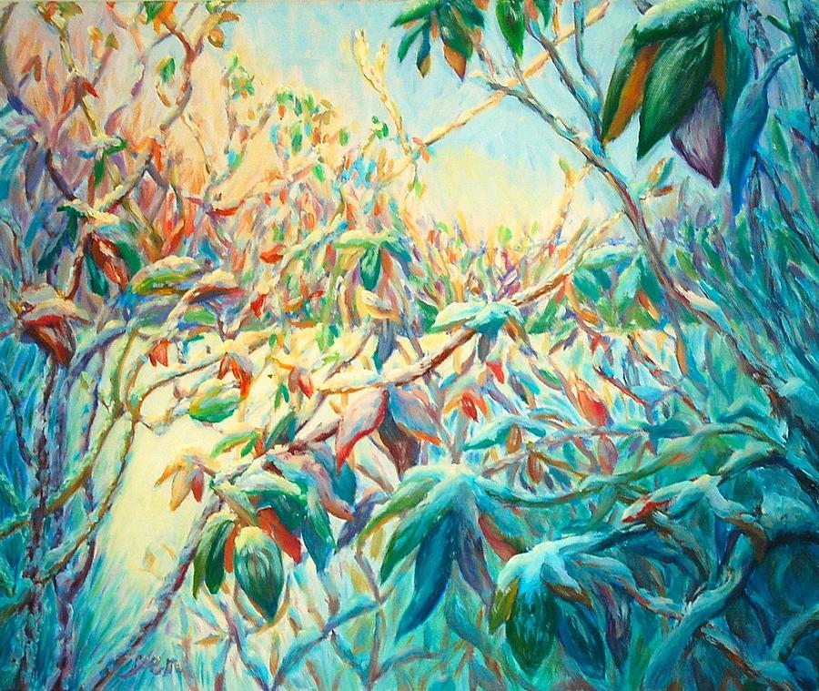 Winter Wonderland Painting - Winter Wonderland by Yen