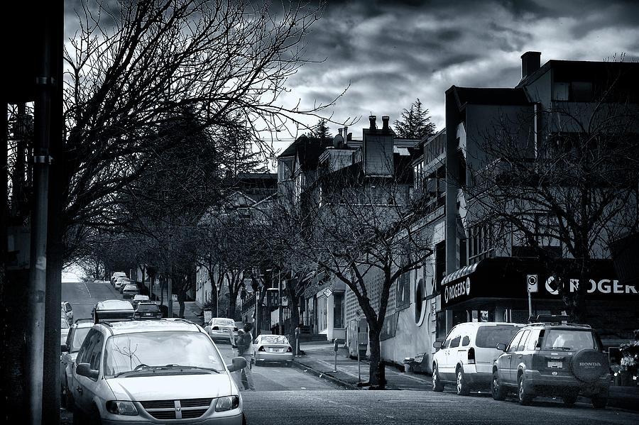 Winter Photograph - Winter Yew Street by Paul Kloschinsky