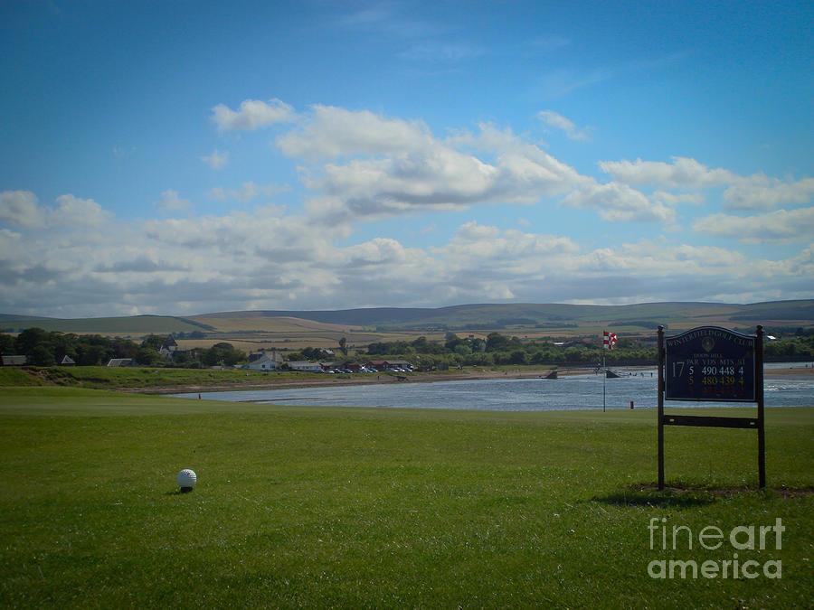 Dunbar Photograph - Winterfield Golf Club by Yvonne Johnstone