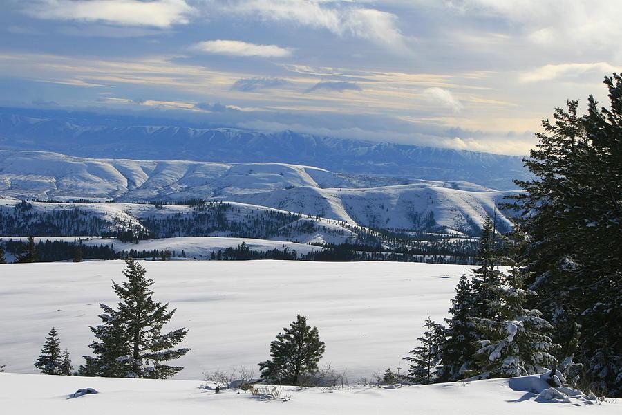 Mountains Photograph - Winterland by JoJo Photography