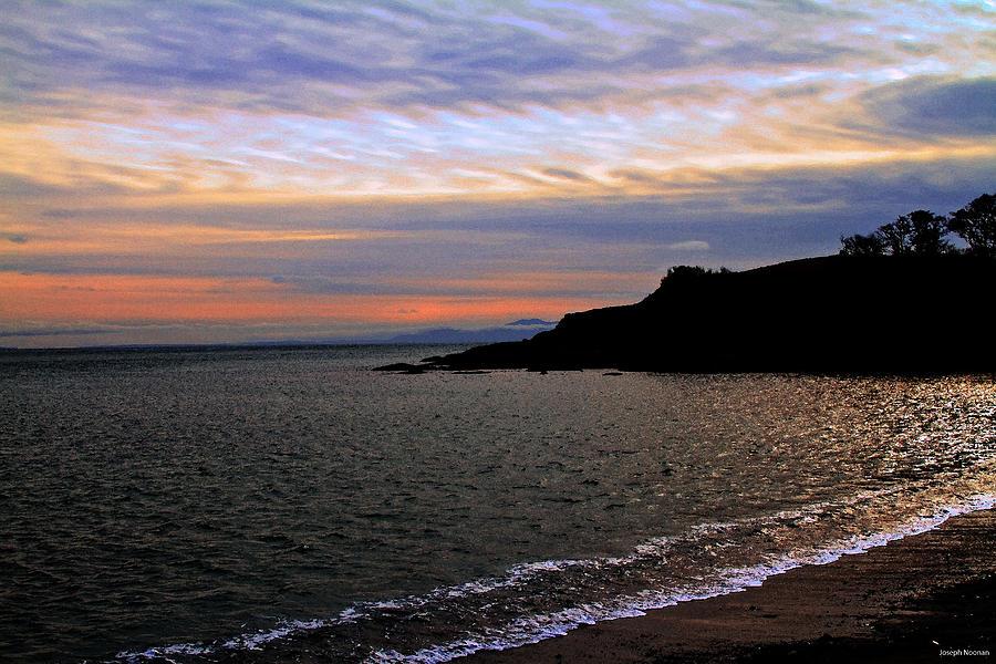 Ocean Photograph - Winters Beachcombing by Joseph Noonan