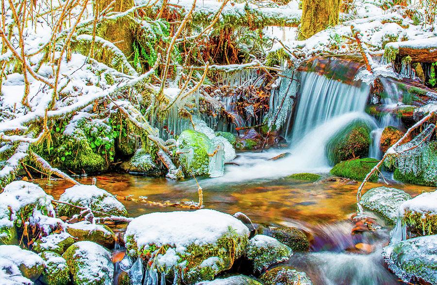 Riverscape Photograph - Winters Creek by Jason Brooks