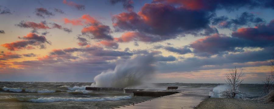 Winters Fury Photograph by David Heilman