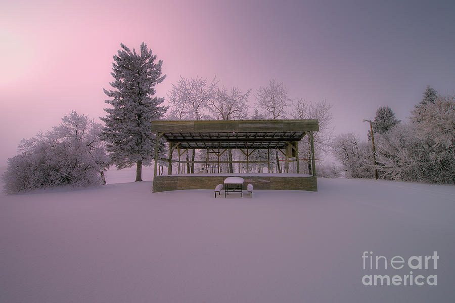 D800 Photograph - Winters Stage by Ian McGregor
