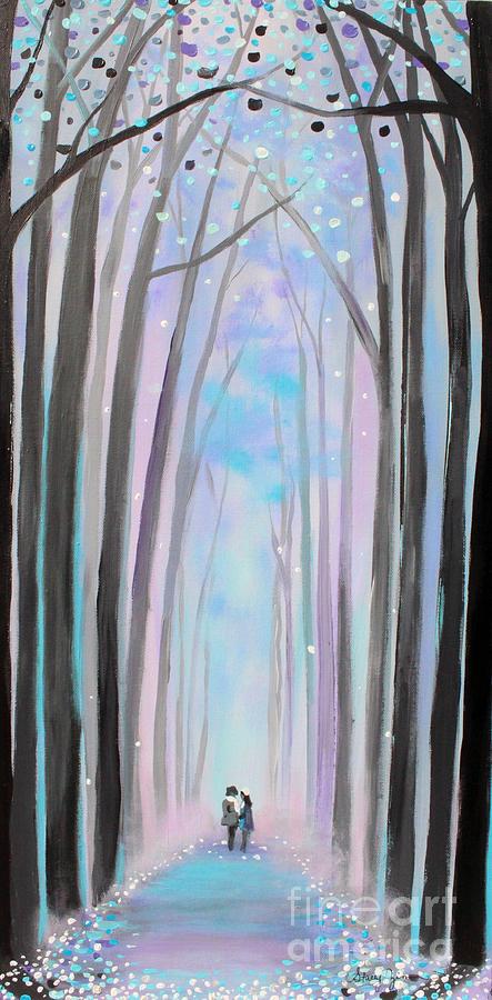 Winter's Walk by Stacey Zimmerman