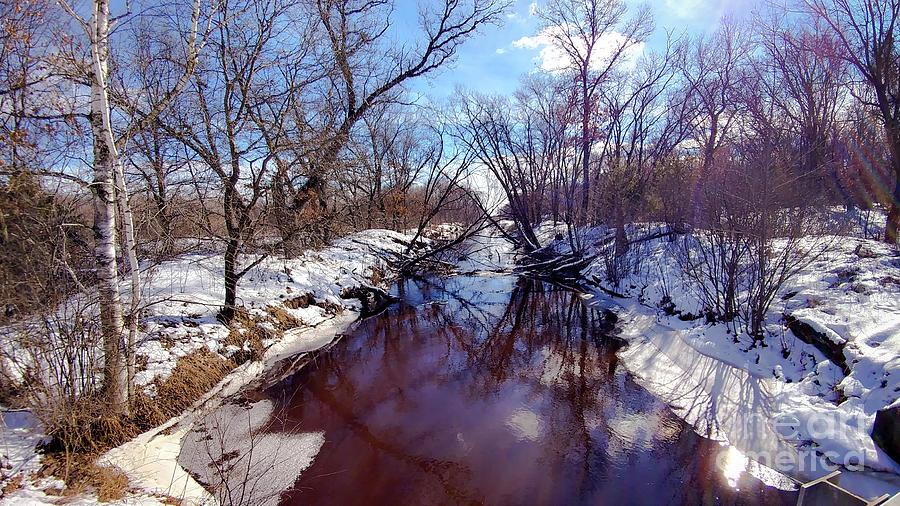 Landscape Photograph - Wintertime In Necedah  by Ricky L Jones