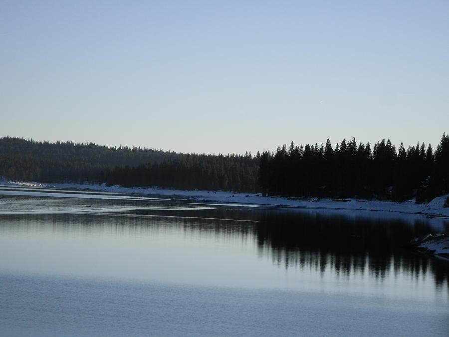 Landscape Photograph - Wintertime Reflections 2 by Susanne Awbrey