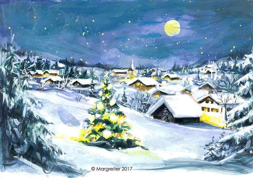 Winter Pastel - Winterwonderland by Johannes Margreiter