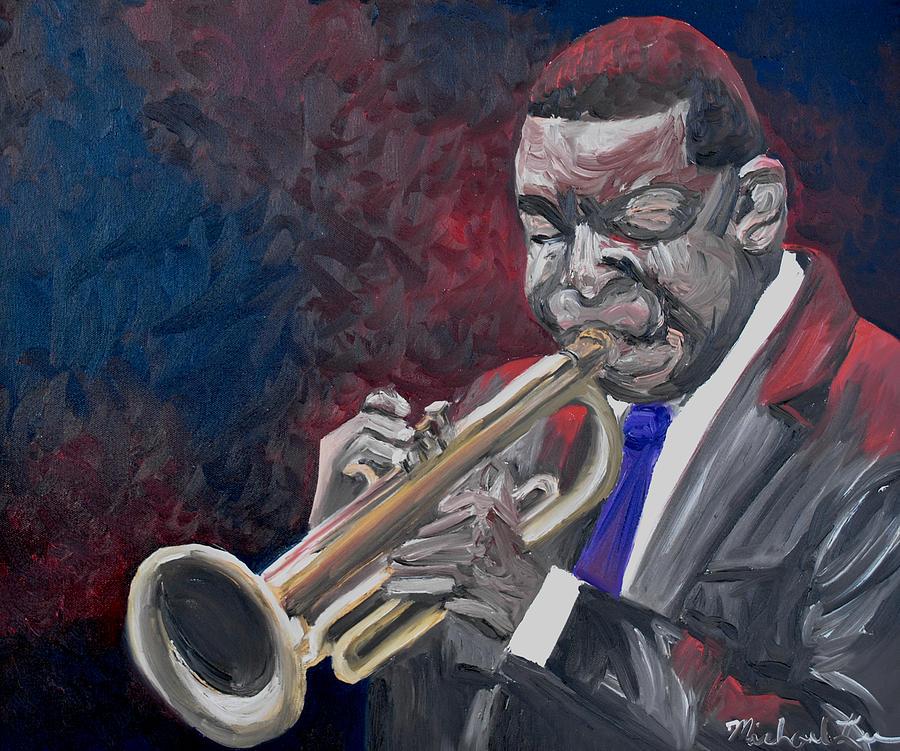 Winton Marsalis Painting