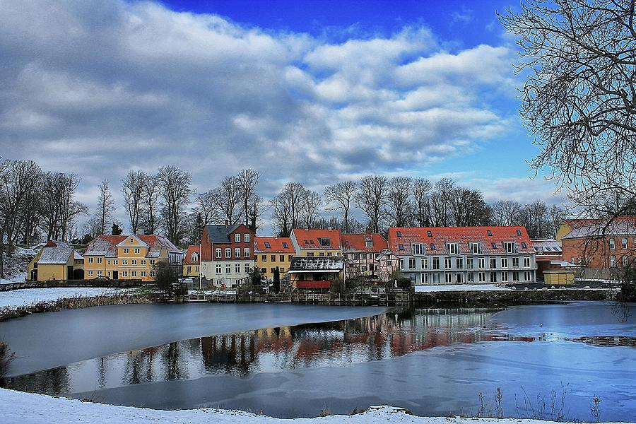 Wintry Nyborg by Ingrid Dendievel