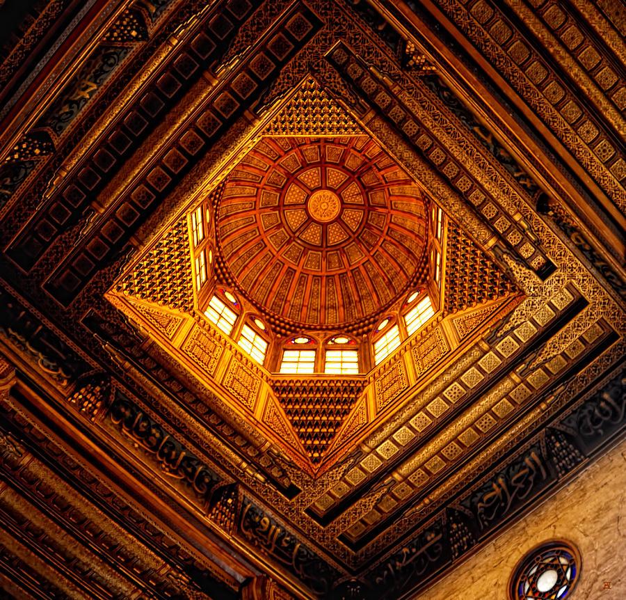 Ghuri Photograph - Al Ghuri Dome by Nigel Fletcher-Jones