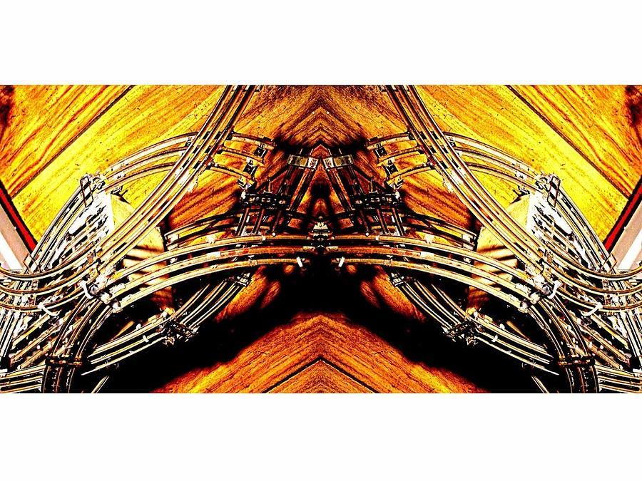 Wire Digital Art by Scott Smith