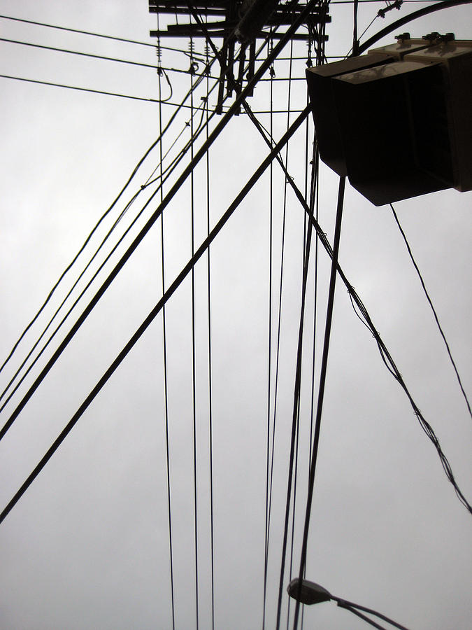 Wires Photograph - Wires by Sean Owens