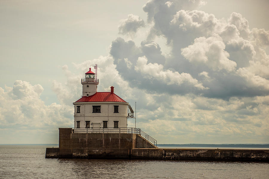 Wisconsin Point Lighthouse Photograph - Wisconsin Point Lighthouse by Paul Freidlund