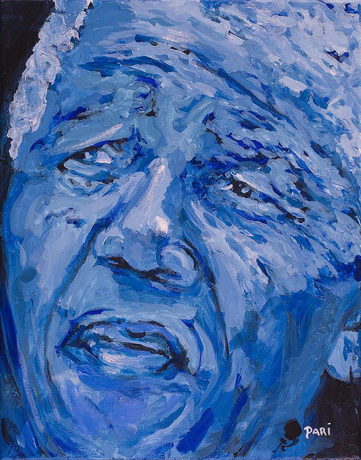 Civil Rights Painting - Wisdom 2 by Dari Artist